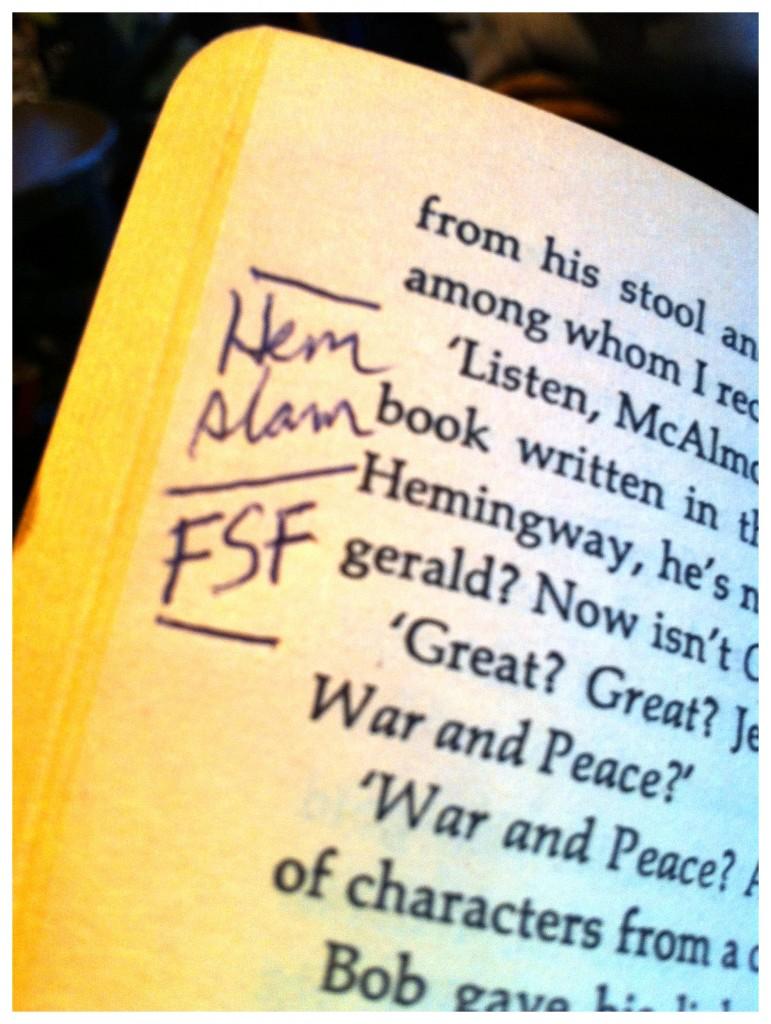 Hemingway Slam 2
