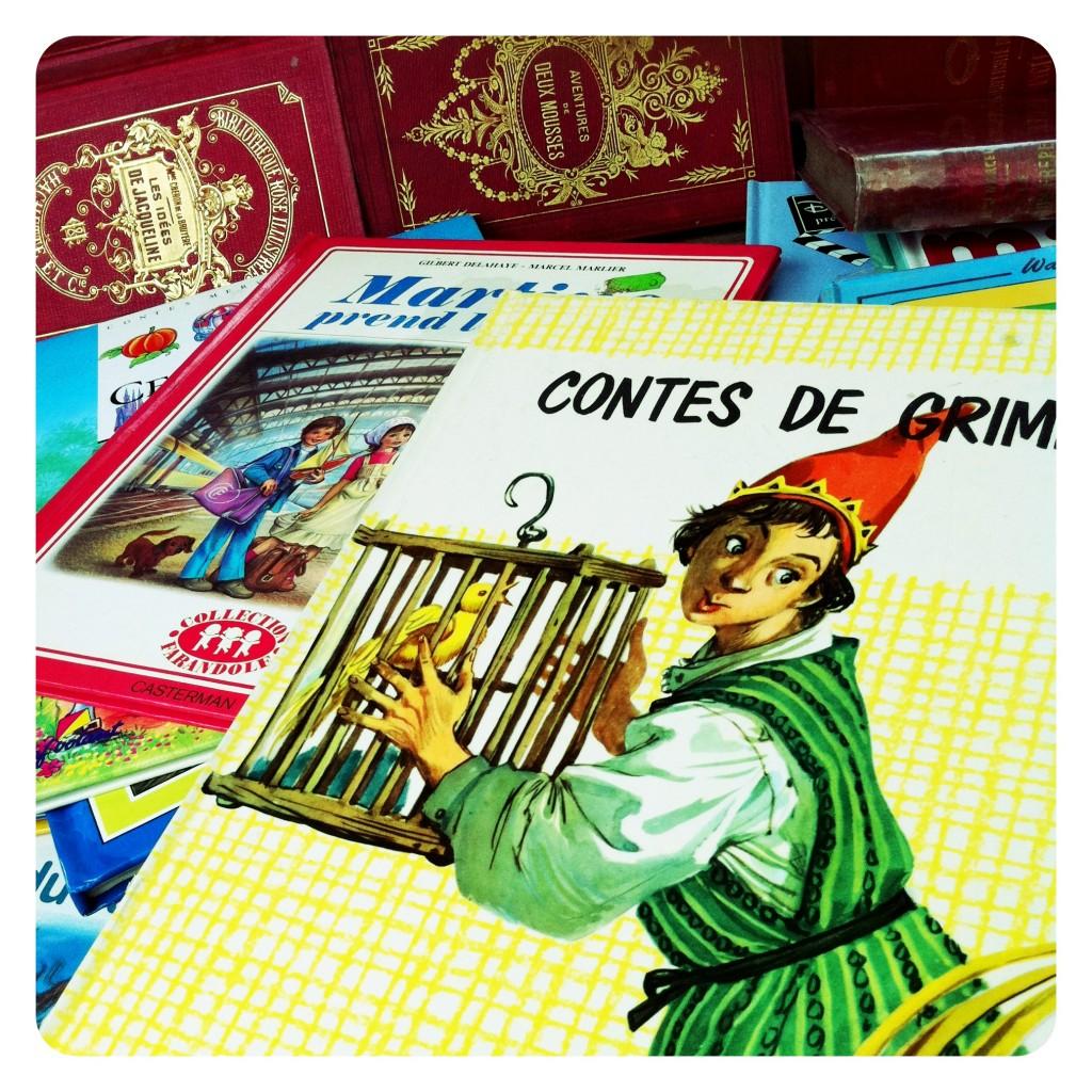 Paris Flea Market Children's Books 8