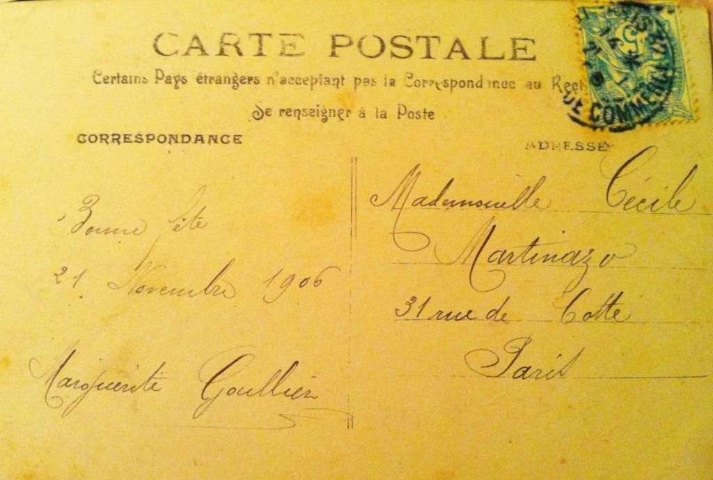 Cecile Martinazo Postcard