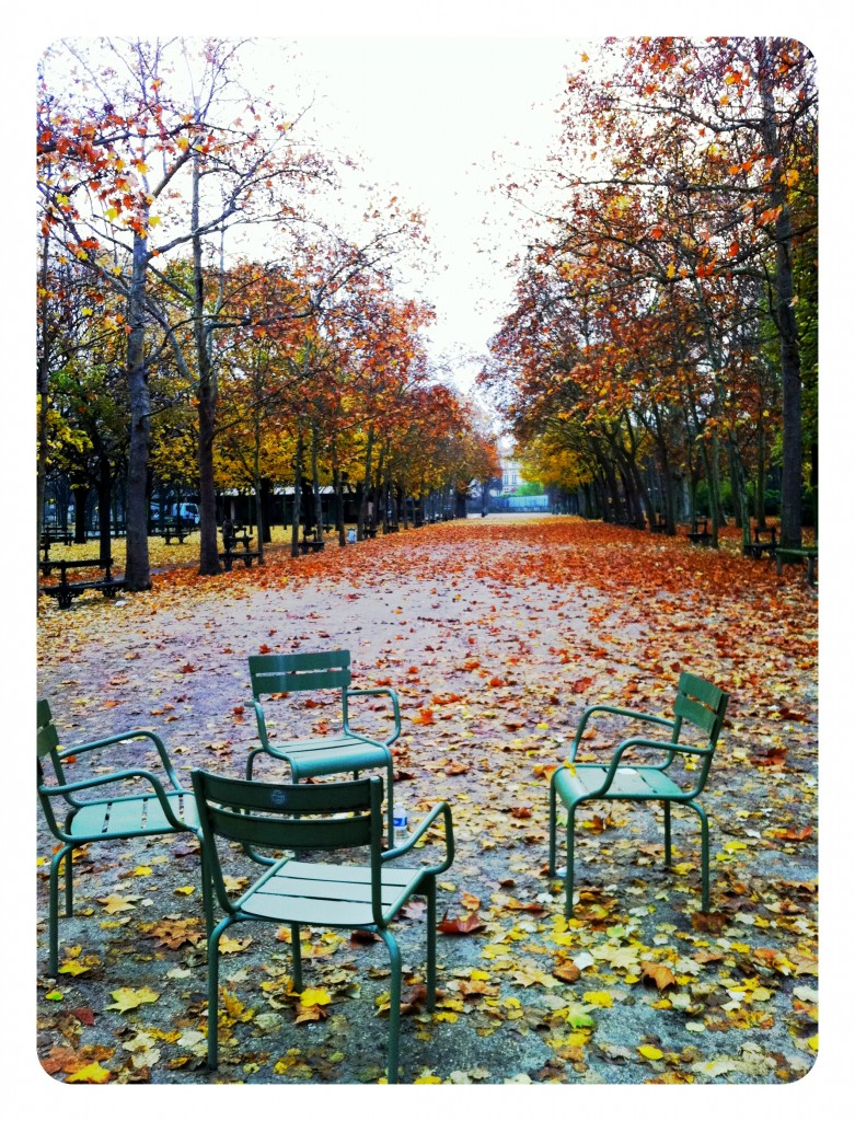 Jardin du Luxembourg four chairs