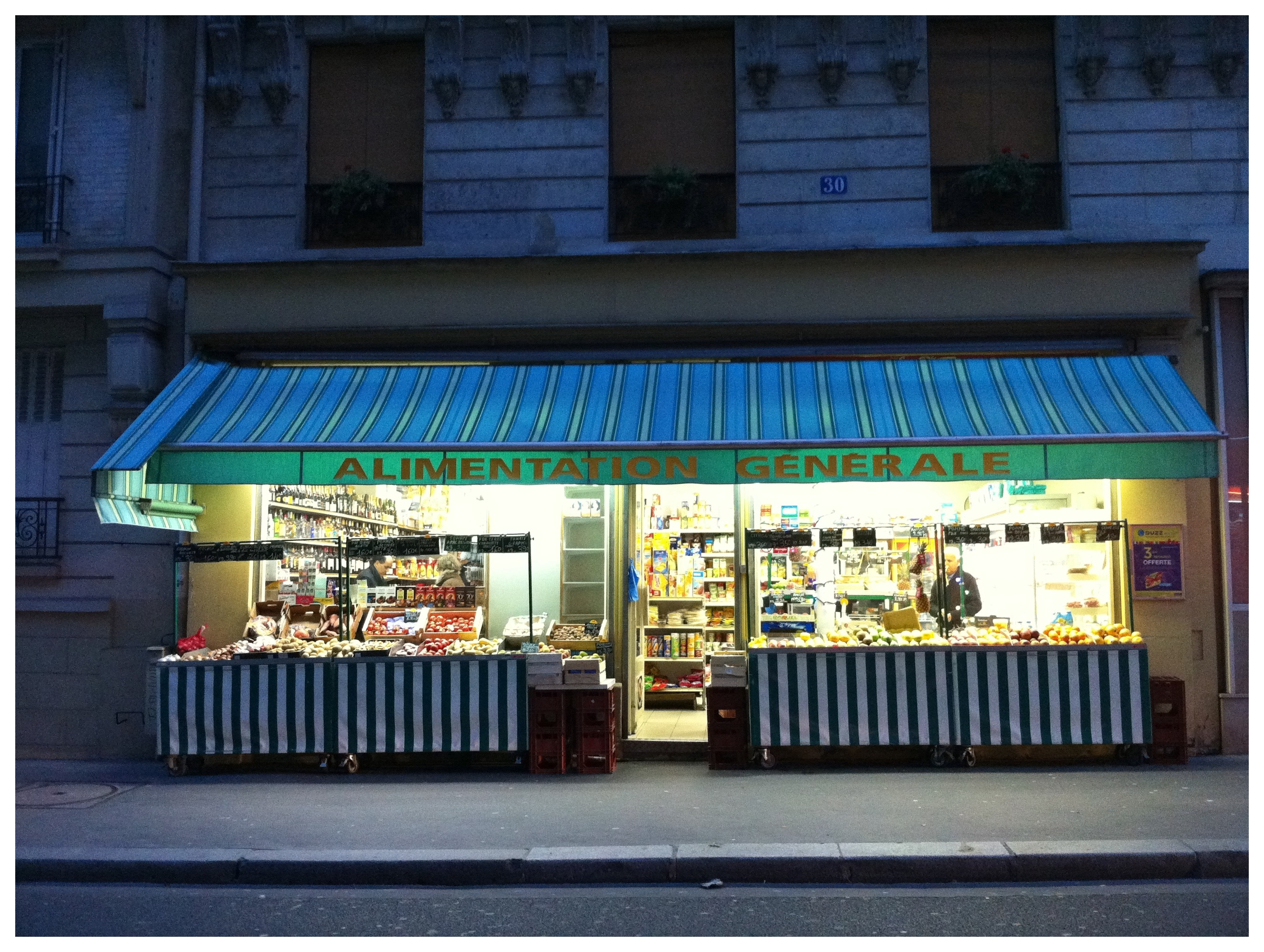 Green Grocer Paris