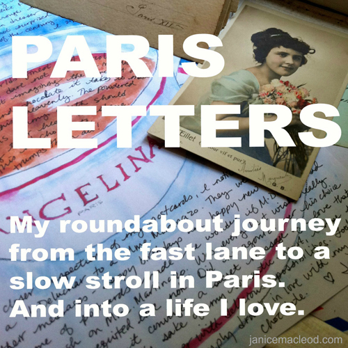 Kind Over Matter Paris Letters post cover