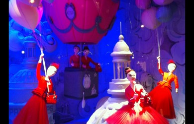 Printemps Christmas Window Paris 2012 10