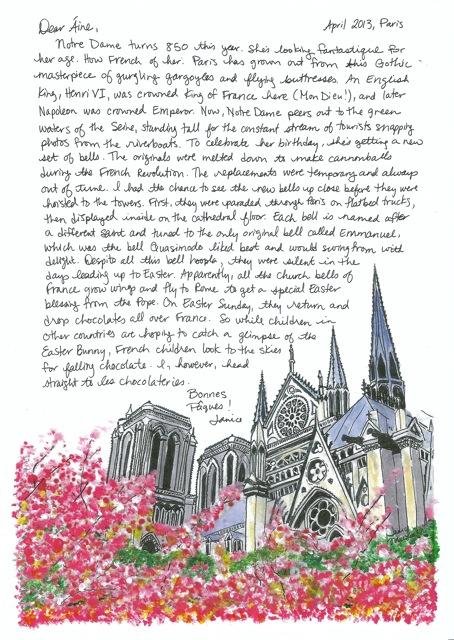 Notre Dame Paris Spring