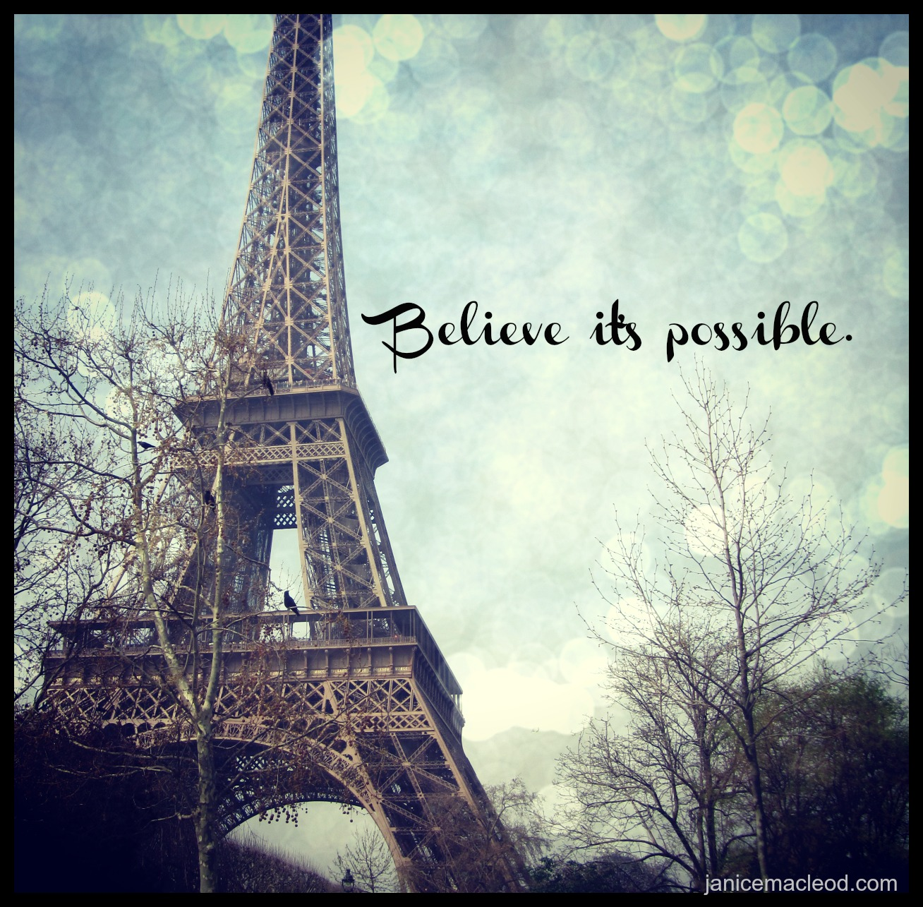 Believe it's possible_Janice MacLeod