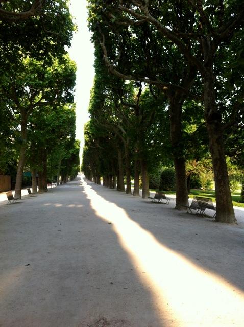 Jardin des plantes lane