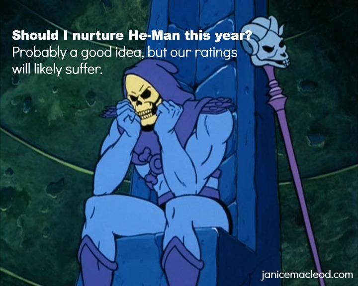 skeletor ponders