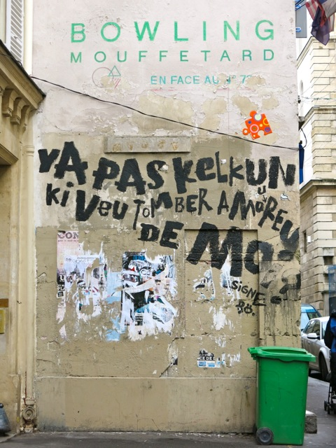 Paris Graffiti Bowling