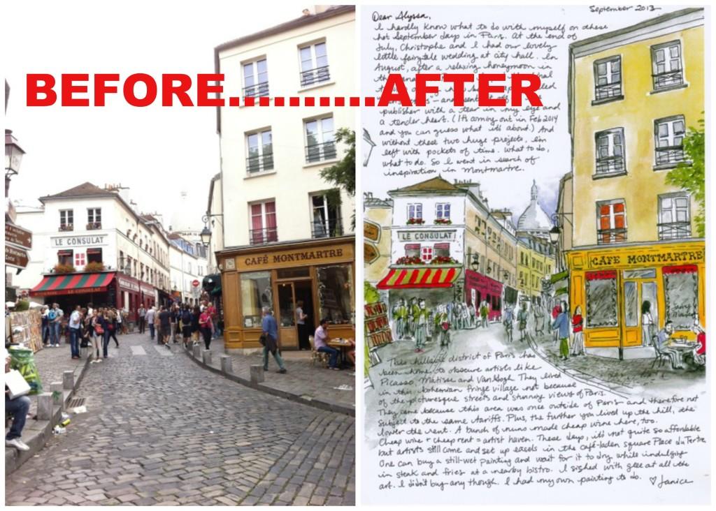 Montmartre Collage