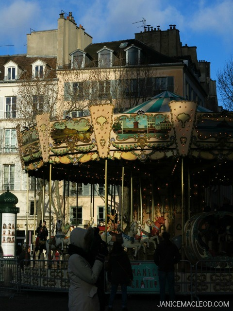 Paris Carousel Janice MacLeod