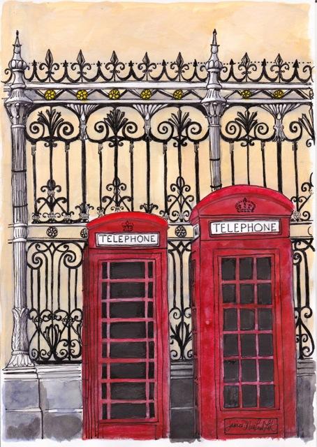 Erin Deli Telephone Painted Letter