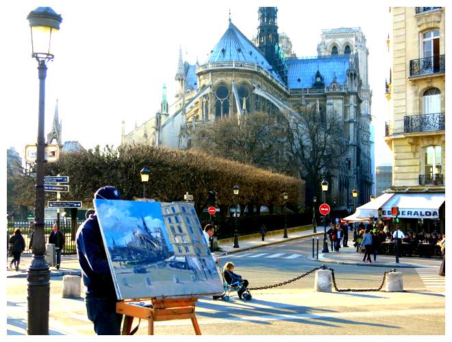 Notre Dame Painter