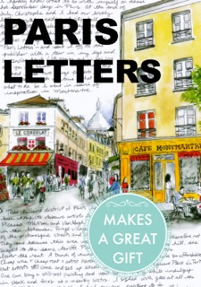 Paris Letter Site Widget Banner