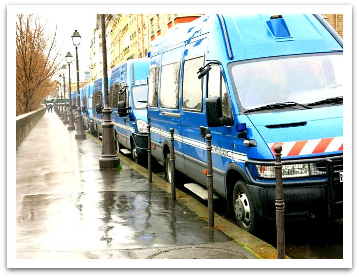 Gendarmerie Trucks