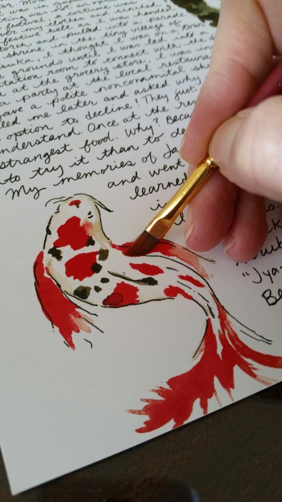Travel Letter Japan Janice MacLeod