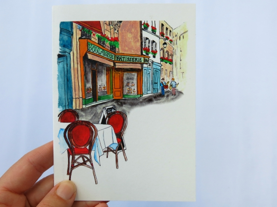 Note Cards: Boulangerie