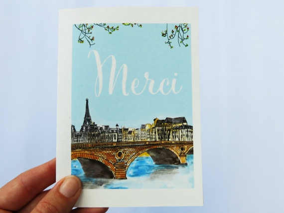 Note Cards: Merci