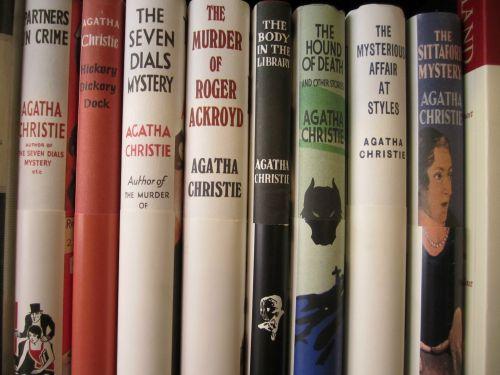 Agatha Christie books sm