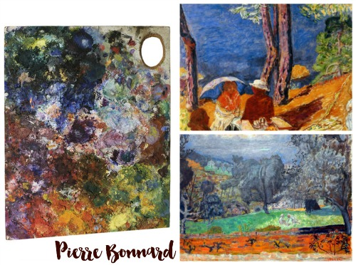 Bonnard Collage