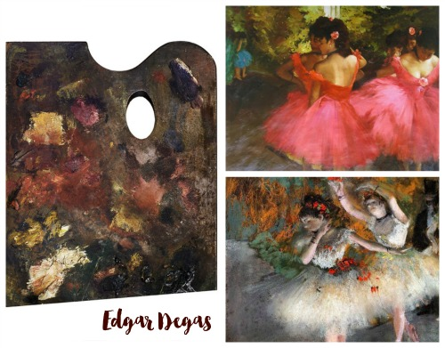 Degas Collage