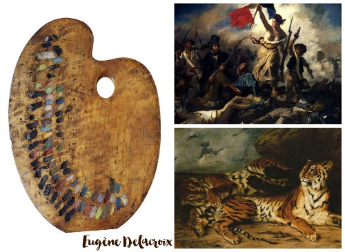 Delacroix Collage