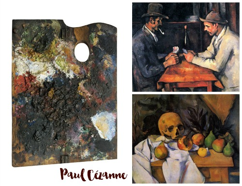Paul Cezanne Collage