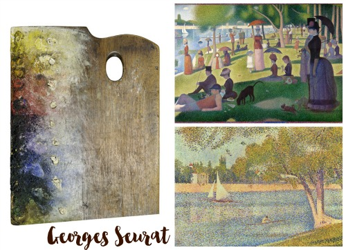 Seurat Collage