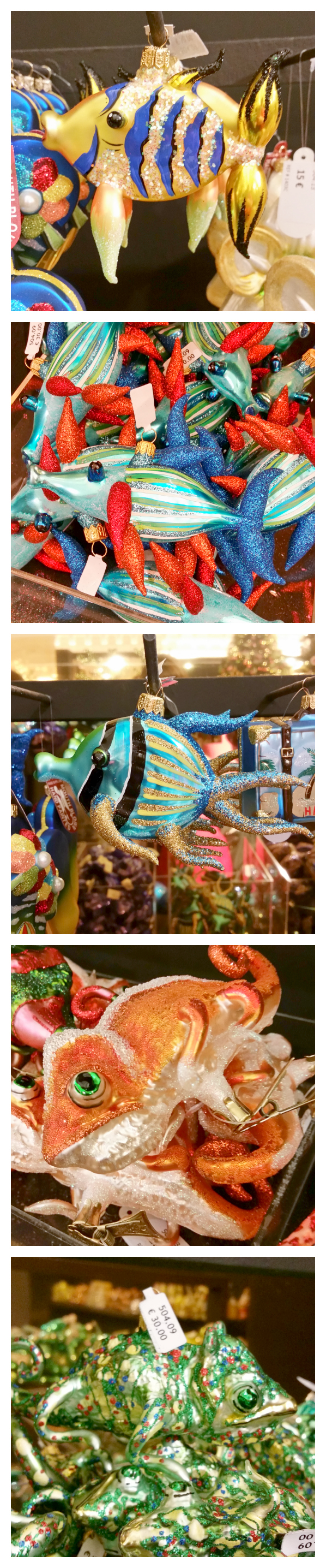 aquatic ornament collage