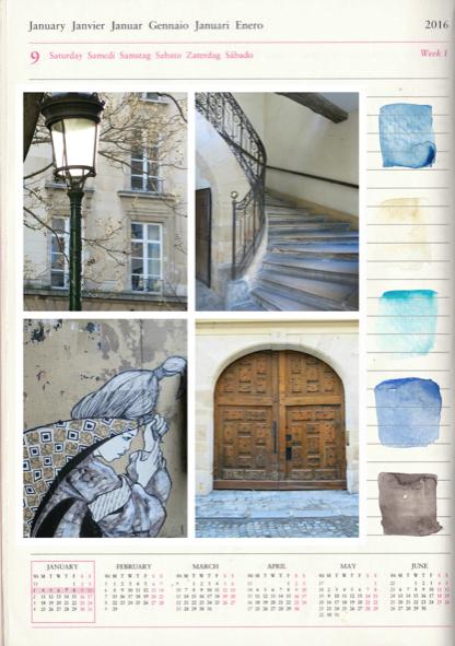 Paris Artist in January, Janice MacLeod