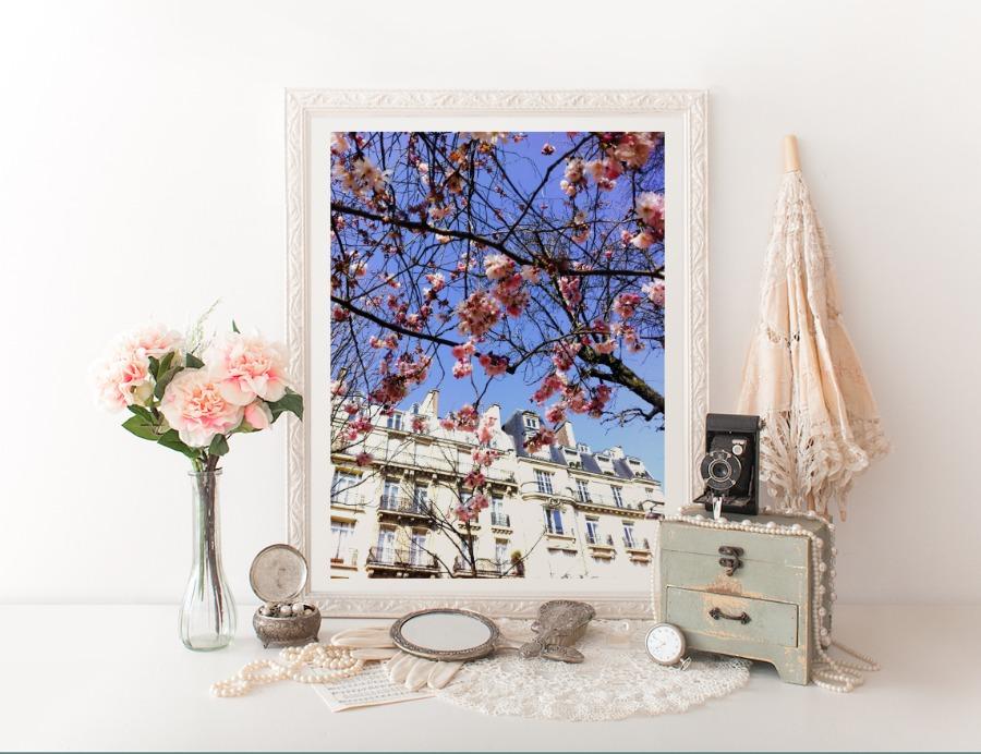 pink blooms in enviro janice macleod