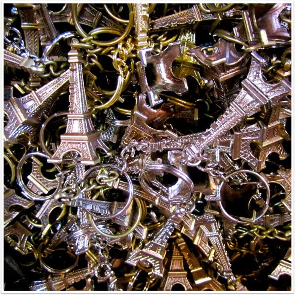 Paris Key Chains