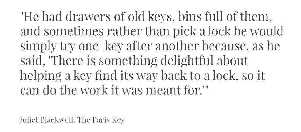 Paris Keys Quote