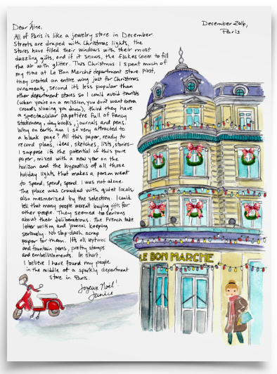 Bon Marche Paris Letter Dec 2017 2