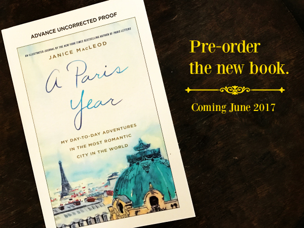 Pre order poster A paris year 2