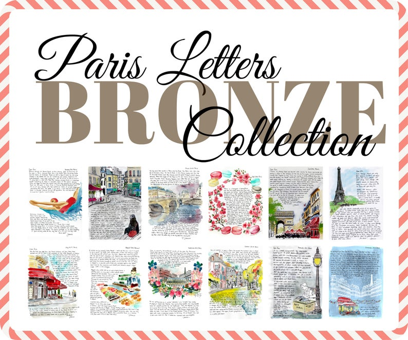 Listicles: Top 12 Paris Letters of all time